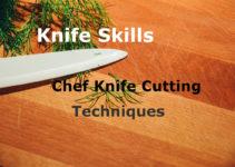 chef knife cutting techniques knife skills