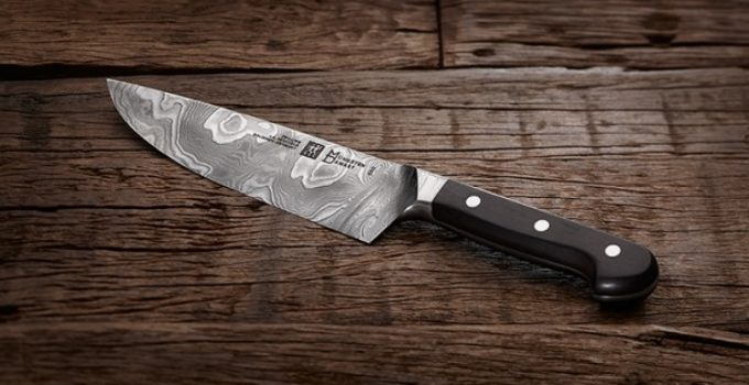 zwilling ja henckels chef knife damast anniversary